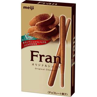 明治Fran 原味巧克力饼干棒
