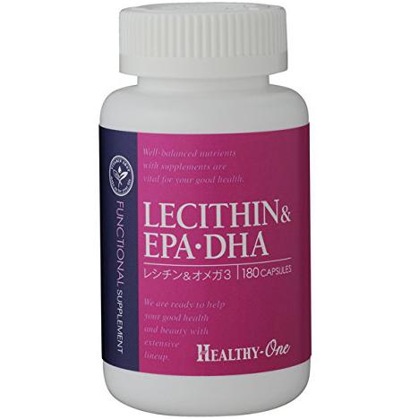 healthy-one 卵磷脂& EPA・DHA 180粒