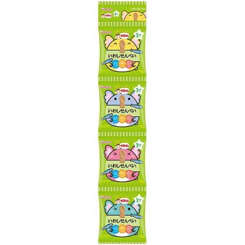 和光堂婴儿零食DHA钙铁沙丁鱼饼干24g(6g×4袋)