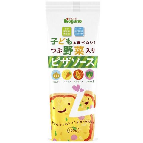 nagano宝宝食品 蔬菜披萨吐司酱