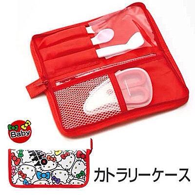 餐具收纳袋 Hello Kitty图案