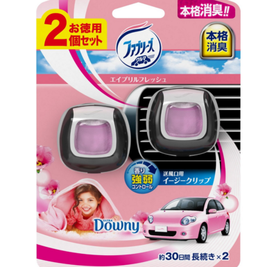 车用芳香剂 淡淡花香味2只装