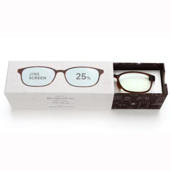 JINS 25%蓝光眼镜FPC-17A-102玳瑁色 成人用