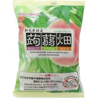 mannanlife 蒟蒻畑果冻白桃味