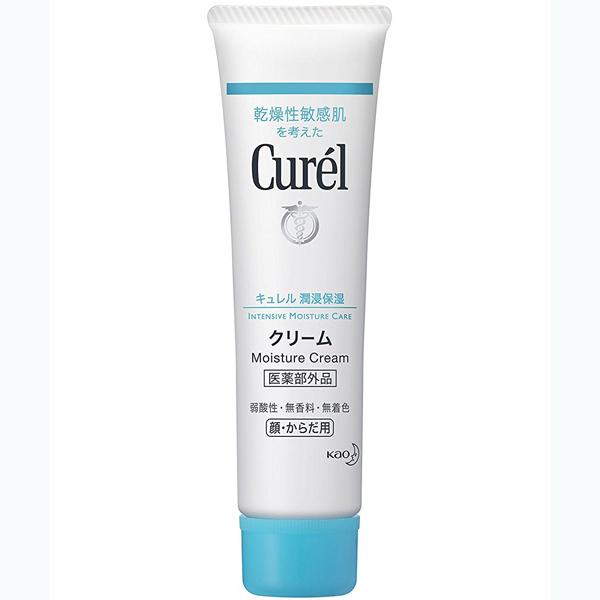 花王珂润干燥敏感肌使用深层保湿按摩面霜35g