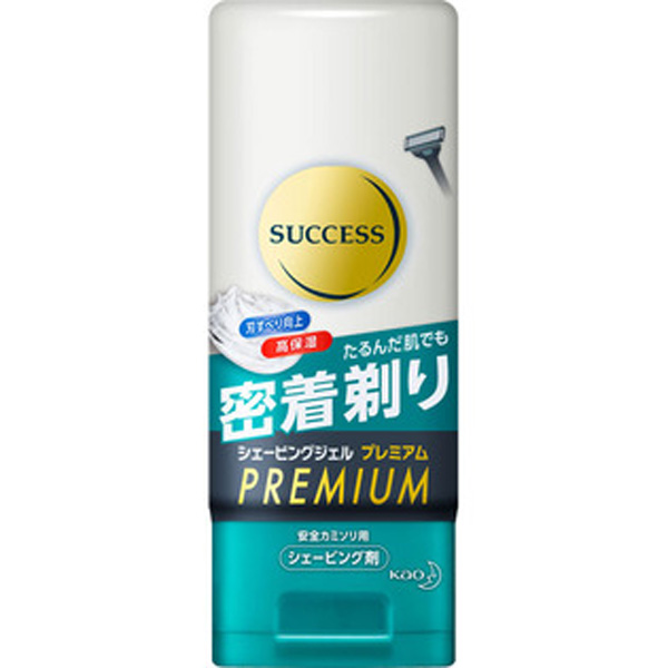 花王男士success高密着肌肤贴合保湿洁面剃须凝胶