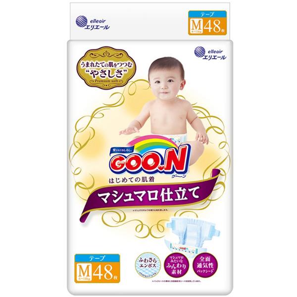 大王棉花糖系列 胶带式纸尿裤 M