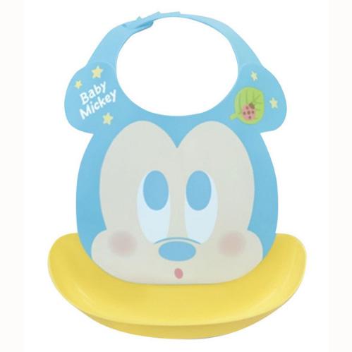 Disney幼儿防水围兜米奇图案