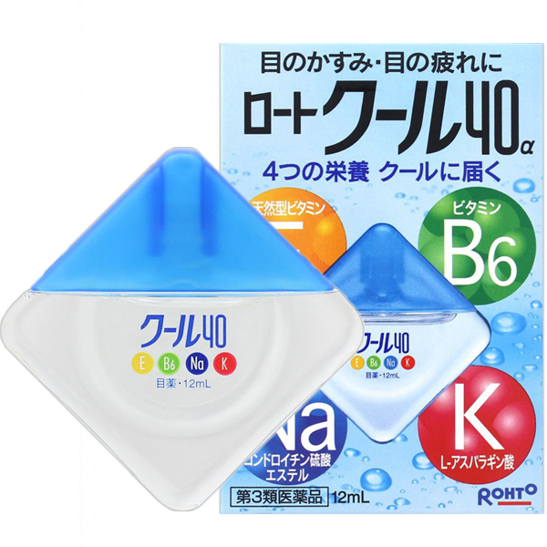 乐敦Cool 40α眼药水12mL