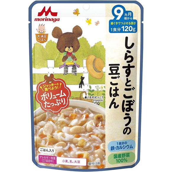 森永 小沙丁鱼牛蒡豆子饭