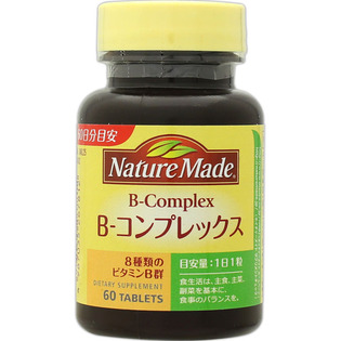 大塚NATURE MADE B-Complex维生素B族复合片60粒
