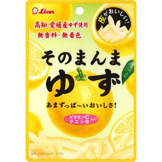 狮王 柚子果皮糖 软糖条