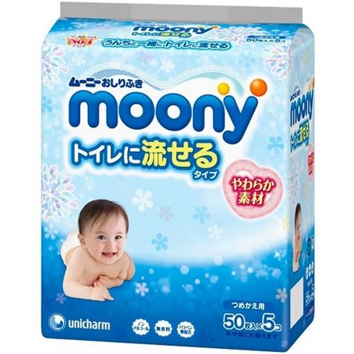 尤妮佳婴儿柔湿巾可厕冲替换装