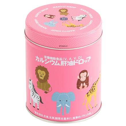 肝油+钙300粒粉罐 哈密瓜味