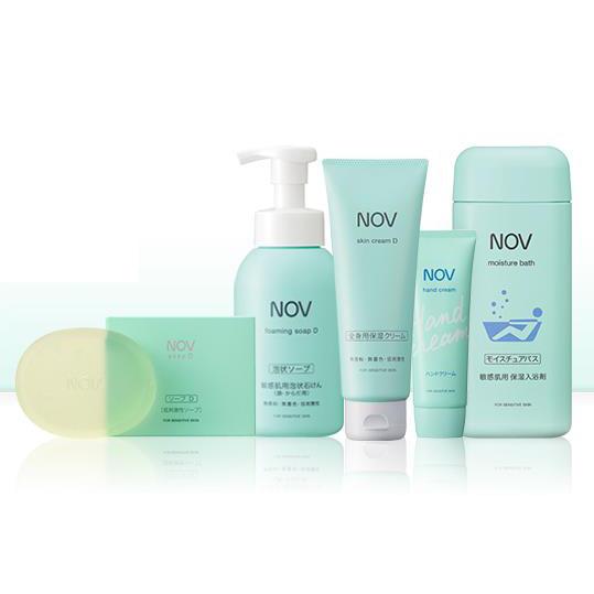 NOV娜芙 香皂和身体护理液