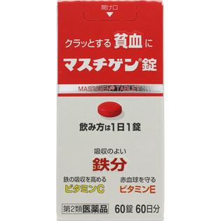 日本臓气制药贫血用药成人用60粒