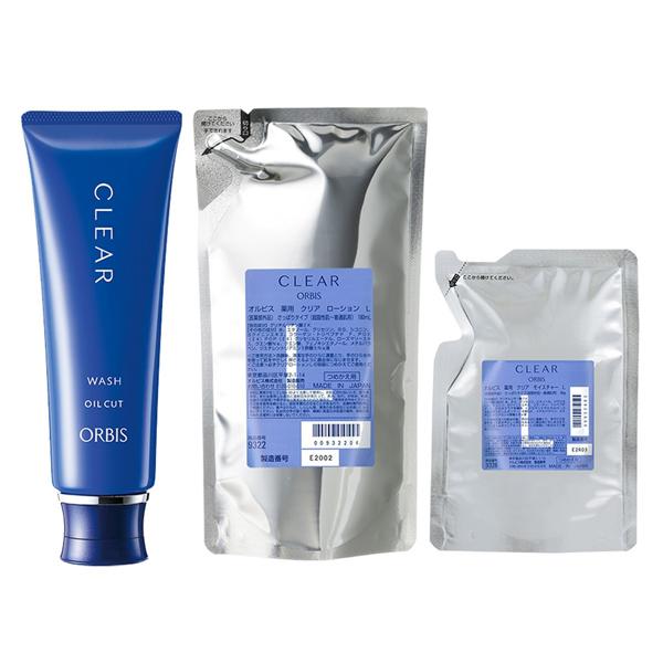 ORBIS奥蜜思和汉净痘水乳保湿液套装清爽型L替换装