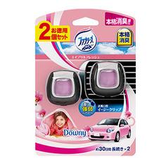车用芳香剂 粉色山野花2个装