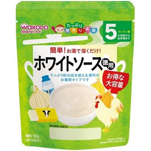 和光堂Wakodo婴幼儿辅食西式香浓奶酪沙司56g5个月起