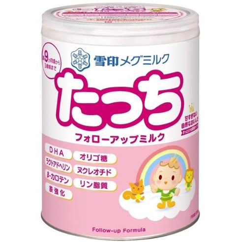 雪印新版二段奶粉