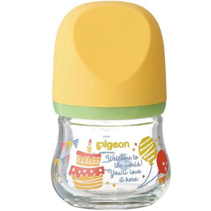 贝亲 新生婴儿母乳实感玻璃奶瓶80ml 聚会 预定