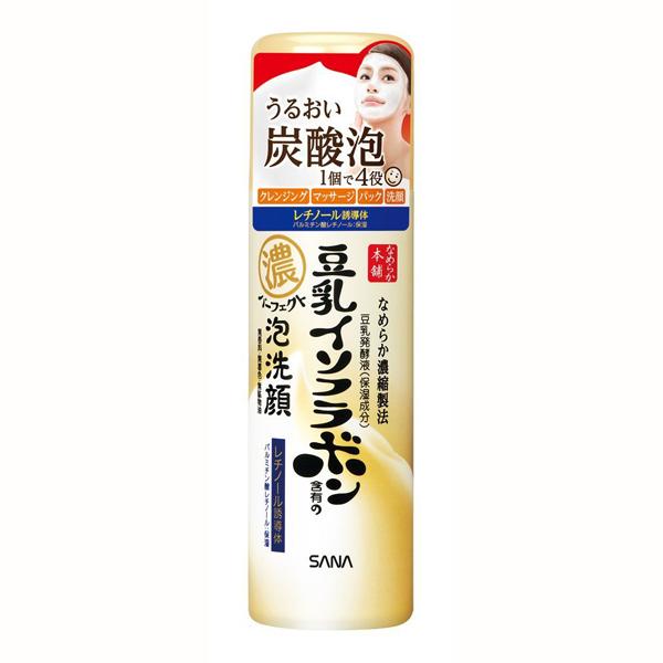 SANA豆乳碳酸泡沫洁面慕斯110g