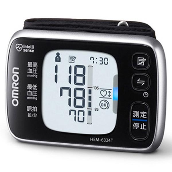 OMRON 欧姆龙手腕式血压计 搭载蓝牙通讯功能 HEM-6324T