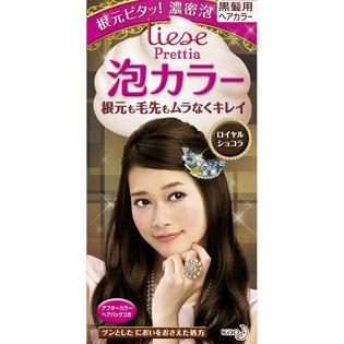 KAO/花王/liese Prettia植物泡泡染发剂108ml 典雅咖棕色
