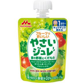 森永 婴儿零食绿色蔬菜水果果冻饮料