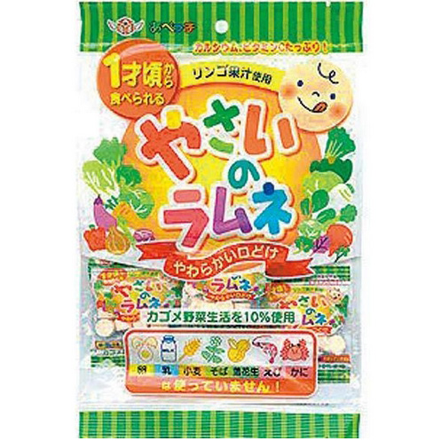安部制果 蔬菜果汁汽水糖