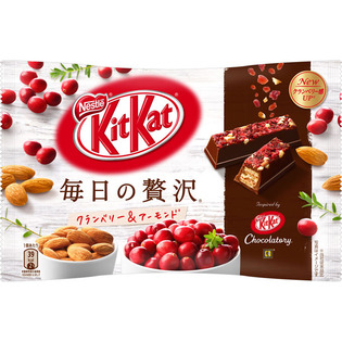 雀巢kitkat奇巧红莓杏仁巧克力威化饼干