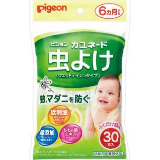 贝亲婴儿童驱蚊防蚊湿纸巾
