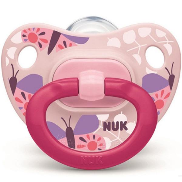 NUK 安抚奶嘴欢乐时光蝶泳 S 0个月~6个月