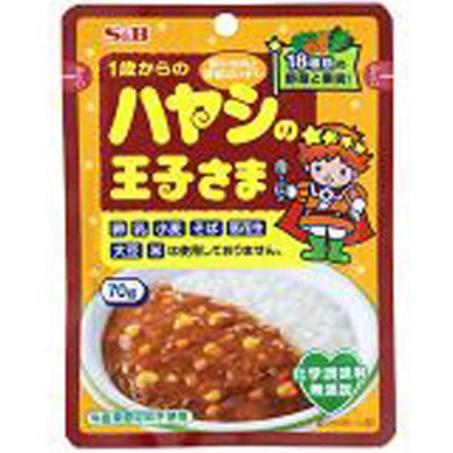 S&B王子拌饭咖喱酱料包