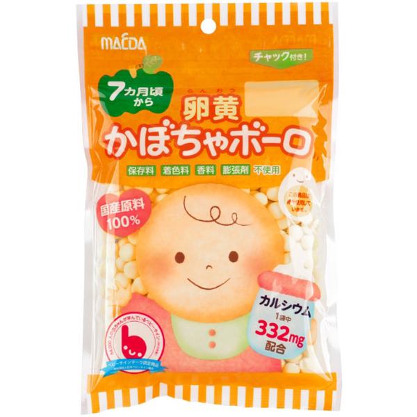 大阪前田 高钙南瓜鸡蛋小馒头