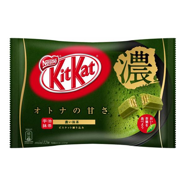 雀巢奇巧KitKat 浓抹茶味威化巧克力饼干