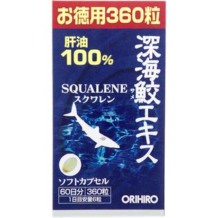 ORIHIRO 深海鲨鱼油精华胶囊