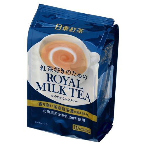 日东红茶皇家北海道冲饮品速溶奶茶10条装原味