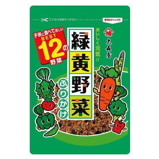 大森屋 绿黄蔬菜拌饭料45g