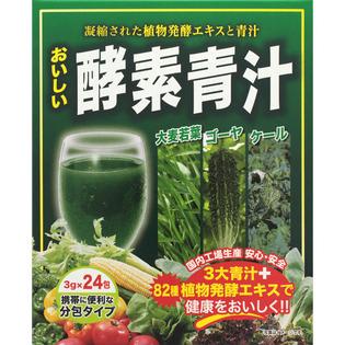 日本ギャルズSC 好吃的酵素青汁24包