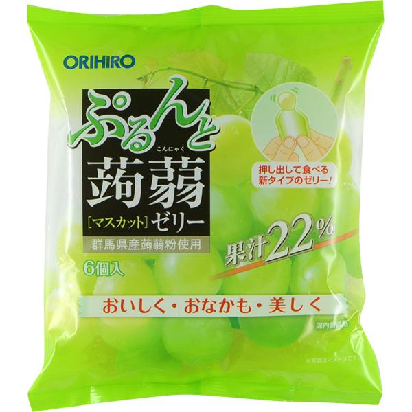 ORIHIRO立喜乐果汁蒟蒻果冻