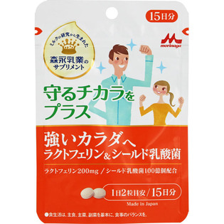 森永乳业 乳铁蛋白和乳酸菌强壮身体15日分