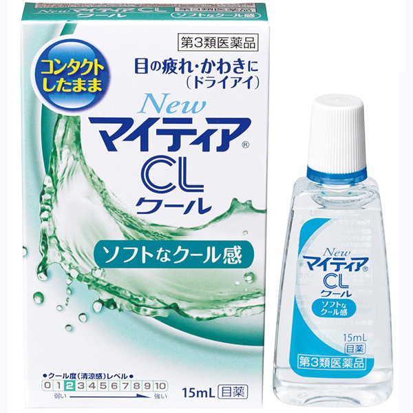 武田眼药水隐形眼镜裸眼两用清凉2度绿色15mL