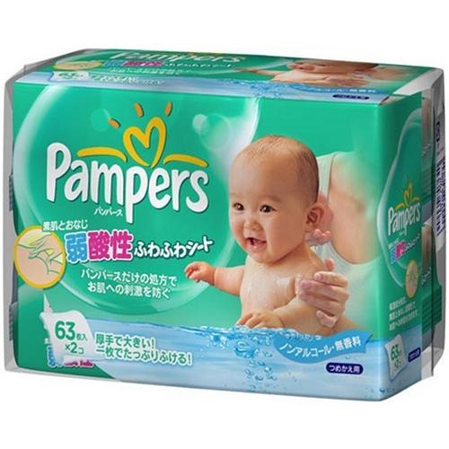帮宝适宝宝PP湿巾替换装