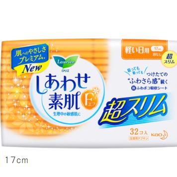 花王乐而雅F超薄卫生巾轻量用无护翼