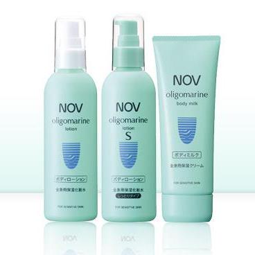 NOV娜芙 oligomarine全身保湿化妆水和面霜