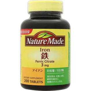 大塚NATURE MADE营养铁元素贫血男女用200粒