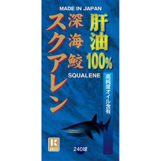 Miyama汉方制药 深海鲛角鲨烯肝油240胶囊
