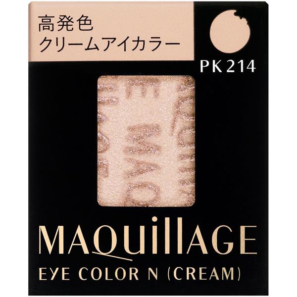 MAQUILLAGE心机彩妆睛亮光彩单色眼影霜芯PK214