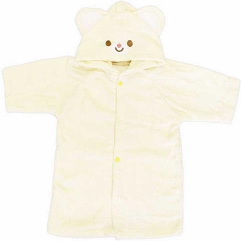 婴儿小熊浴袍